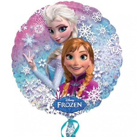 Frost Elsa og Anna Fødselsdagsballon i folie