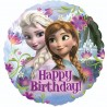 Frozen Happy Birthday Folie Ballon