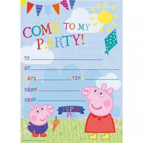 Gurli Gris fødselsdagsinvitationer