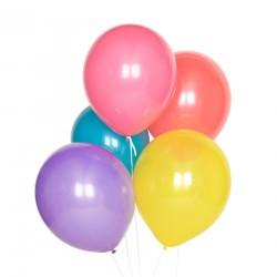 10 Multifarvede balloner i friske farver fra My Little Day