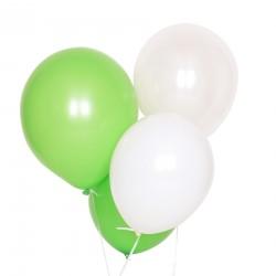 10 Blandede grønne balloner fra My Little Day
