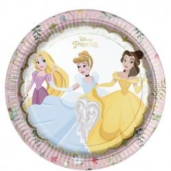 Smukke prinsesse tallerkner