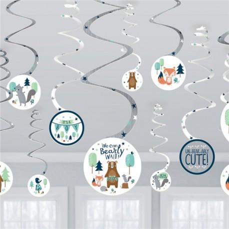 Bearly wait loft dekoration til babyshower