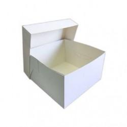 Hvid kagekasse