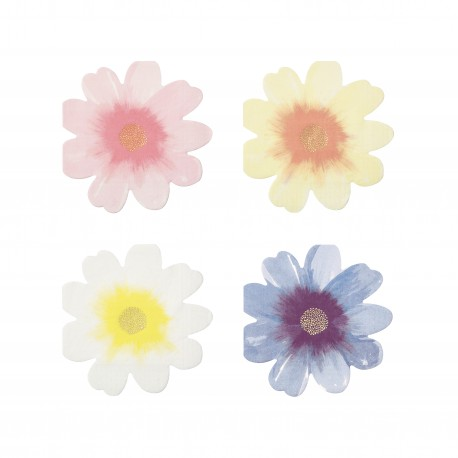Flower garden servietter fra Meri Meri