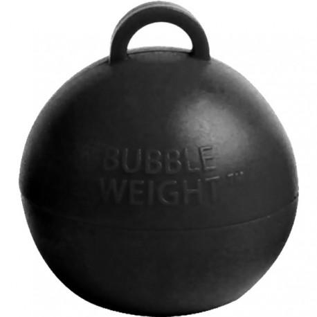 Sort kugle vægt til balloner med helium