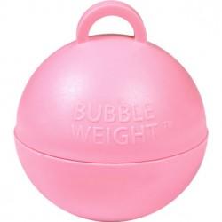 Lyserød kugle vægt til balloner med helium