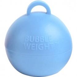 Lyseblå kugle vægt til balloner med helium