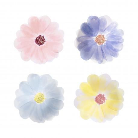 Flower garden tallerkner fra Meri Meri