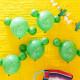Kaktus pompom balloner