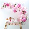 Lyserød Ballon Guirlande