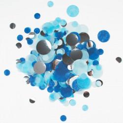 Blå og Sølv Silkepapirskonfetti fra My Little Day