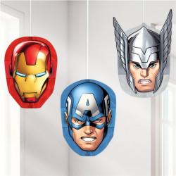 Avengers Honeycomb til at hænge fra loftet