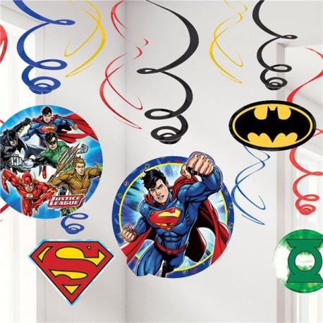 Justice League Loft Dekoration