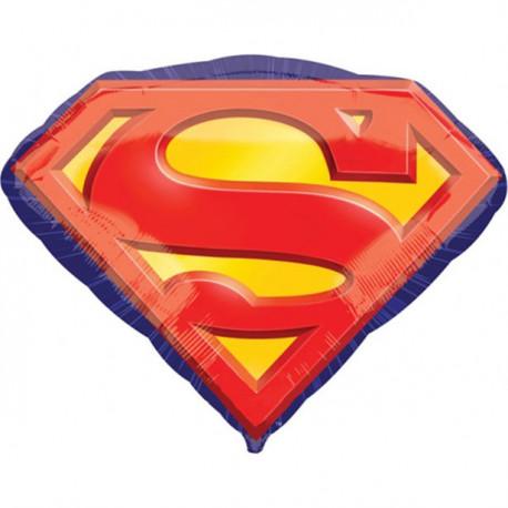 Superman Logo Folie Supershape ballon