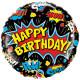 Superhelte Happy Birthday Folie Ballon