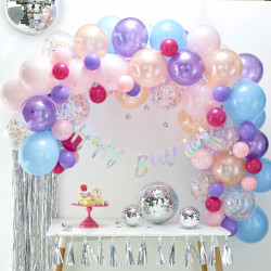 Pastel Ballon Guirlande