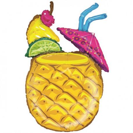 Tropical Ananas Cocktail Ballon