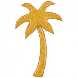 Guld Glimmer Palmetræ Ballon