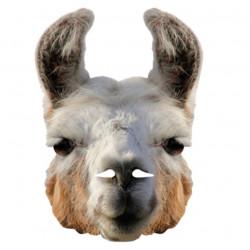 Lama maske som ikke spytter