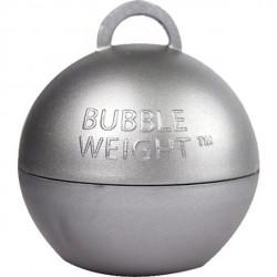Sølv kugle vægt til balloner med helium