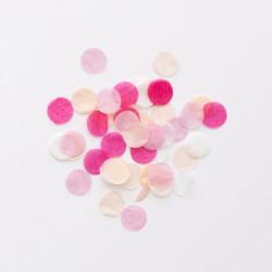 1 æske Pink og lyserød Konfetti fra Meri Meri