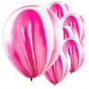 Lyserøde marmor balloner