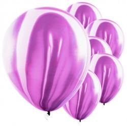 Lilla marmor balloner