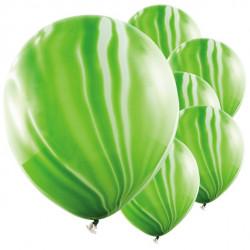 Grønne marmor balloner