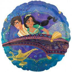 Rund Aladdin Folie ballon