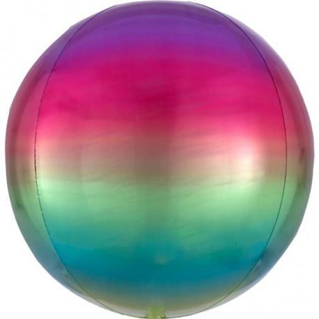 Ombre Regnbue Orbz ballon