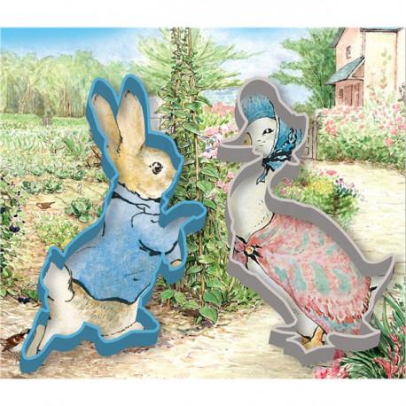Peter kanin og Emma Gås Cookiecutter