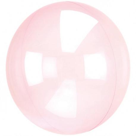 Pink Clear Ballon
