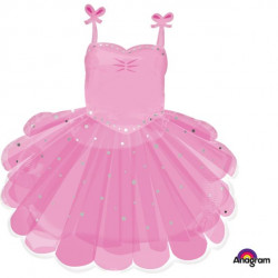Ballerina ballet skørt Folie ballon