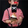 Pirat Fødselsdag Cupcake Kit