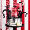 Piratflag og blæksprutte caketoppersæt