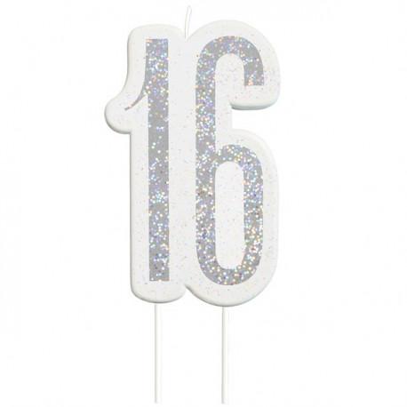 16 års fødselsdagslys
