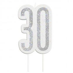 30 års fødselsdagslys