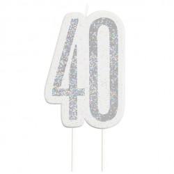 40 års fødselsdagslys