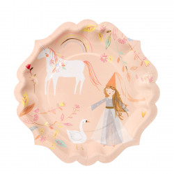 Magiske Prinsesse Tallerkner fra Meri Meri