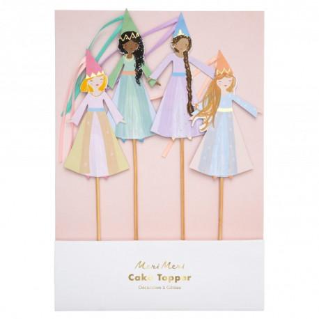 Magiske Prinsesse Caketoppers fra Meri Meri