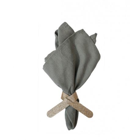 Glimmer servietringe