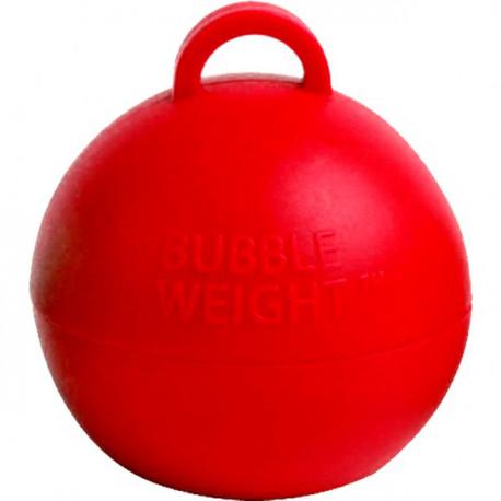 Rød kugle vægt til balloner med helium
