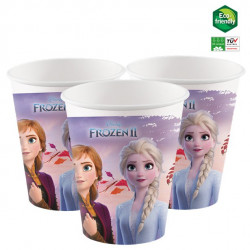 Frost papkrus med Anna og Elsa