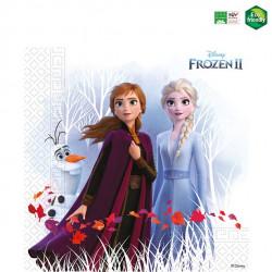 Frost servietter med Anna og Elsa