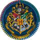 Harry Potter kagetallerkner med Hogwarts emblem
