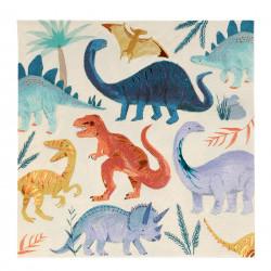 Dinosaur Riget servietter fra Meri Meri