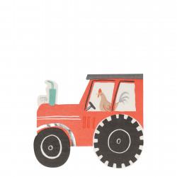 Traktor servietter fra Meri Meri