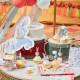 Cirkus Hingst Folie Ballon fra Meri Meri