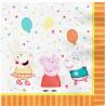 Gurli Gris og venner fødselsdagsservietter